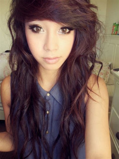 emo hairstyles with curly hair 30 deeply emotional and creative emo hairstyles for girls