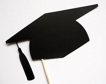 graduation cap cutouts clipart best