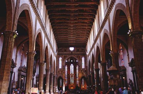 santa croce interno la chiesa di santa croce a firenze complesso museale di
