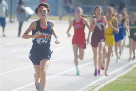 orange park track chiang dominates track chs clay today