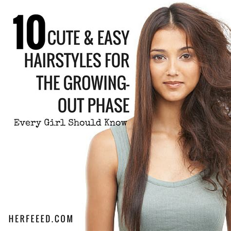 cute hairstyles while growing out bangs in between hairstyles for growing hair out hairstyles