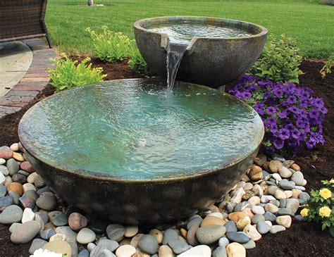 Aquascapes Inc by Aquascape Inc Announces New Decorative Spillway Bowls Pond Trade Magazine