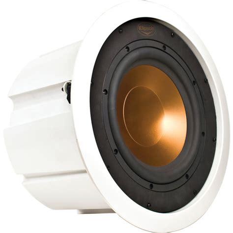klipsch in ceiling speaker klipsch rw 5101 c in ceiling subwoofer white