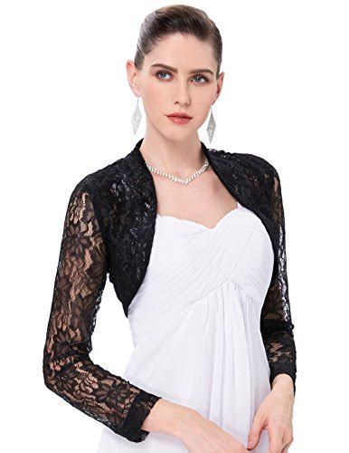 Lace Swetaer Abu black lace shrug bolero cropped jacket cardigan js49 1 m apparel in the uae see prices