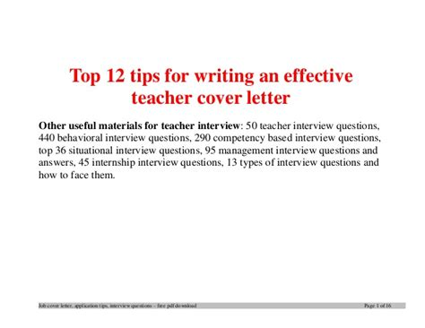 Letter Closing Questions Top 12 Tips For Writing An Effective Firefighter Cover Letter
