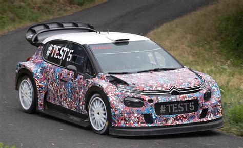 Citroen Rally Car by 2017 Citroen World Rally Car Hits The Asphalt