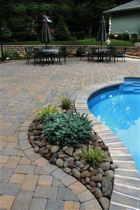 pool patio pavers best 20 pool and patio ideas on backyard pool