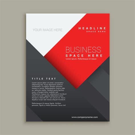 corporate flyer design vector minimal business brochure template design download free