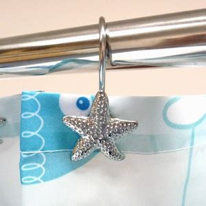 starfish shower curtain hooks starfish hook rings byretech ltd