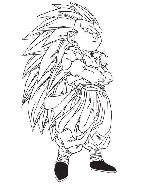 dragon ball z coloring pages gohan coloring home