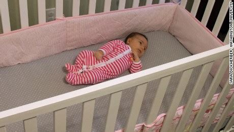 baby monitor for crib stop using crib bumpers doctors say cnn