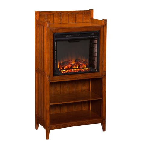 Mission Fireplace by Southern Enterprises Amari 30 5 In Freestanding Tower
