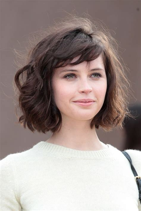 bob haircuts thick wavy hair 20 feminine short hairstyles for wavy hair easy everyday