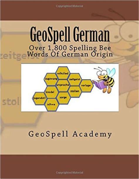 geospell academy   geospell german: spelling words