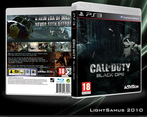 Ps3 Call Of Duty Black Ops Reg 4 call of duty black ops playstation 3 box cover by lightsamus
