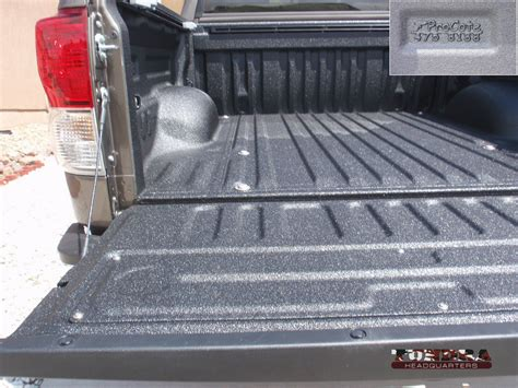 tundra bed liner spray in bed liner review line x vs tundra headquarters