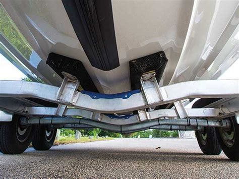 boat trailer drop center axles trailer choices trailering boatus magazine