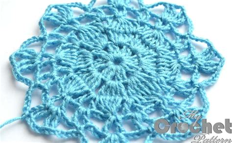 Motif Flower Blue by Blue Big Flower Motif Pattern Mycrochetpattern