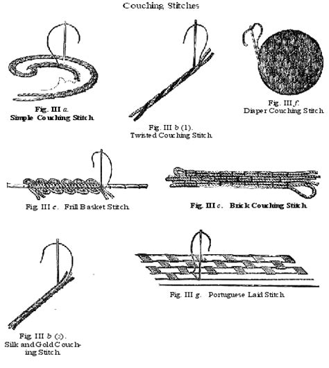 how to do a couching stitch harvest moon by hand take a stitch tuesday couching