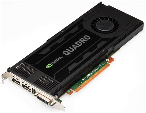 Vga Quadro K4000 nvidia l 237 a su gama de tarjetas gr 225 ficas profesionales quadro