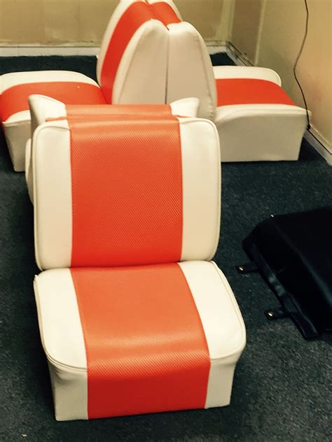 vintage back to back boat seats back to back the boat seats repaired and recovered