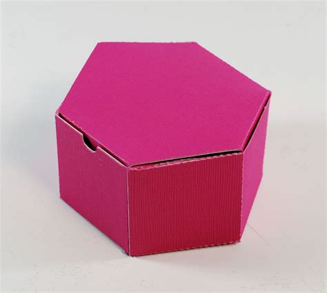 how to make a cute hexagon shaped gift box