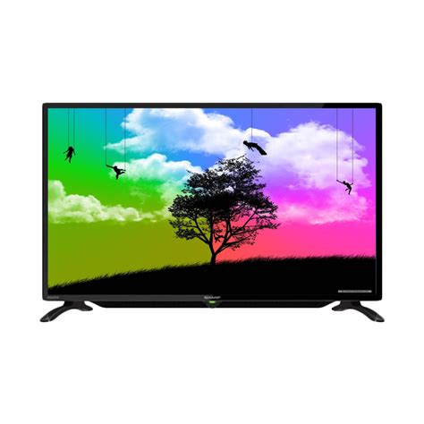 Sharp Led Hdmi sharp led tv 32 inch 32le180 hdmi ready elevenia