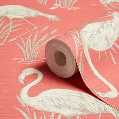 flamingo wallpaper on eastenders arthouse lagoons flamingos wallpaper grey and coral