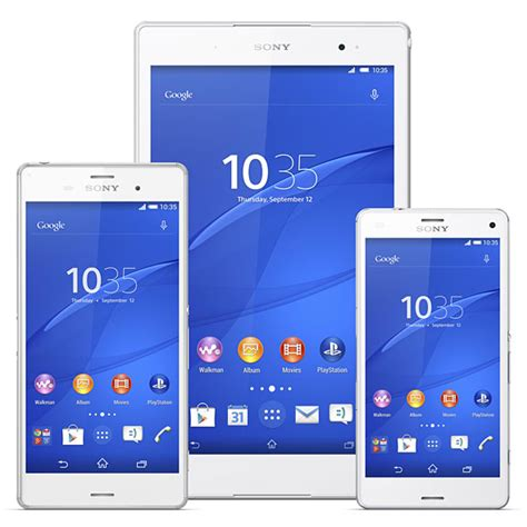 wann kommt sony xperia z3 xperia z3 tablet compact 発表 8型で 世界最薄 最軽量 の防水タブレット