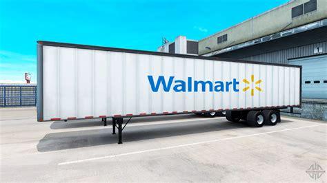 the trailer the walmart semi trailer for american truck simulator