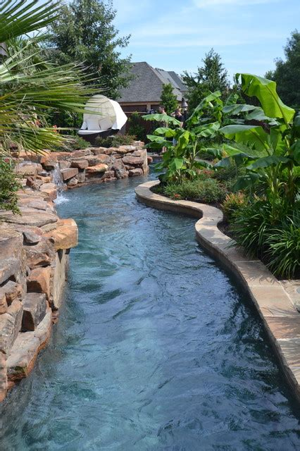 Rivers Edge Furniture Bedroom colleyville residential lazy river tropical pool