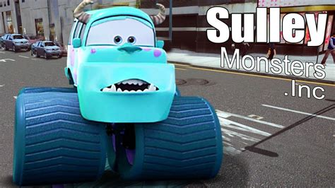 disney monster truck videos disney cars mater national monsters truck sulley disney