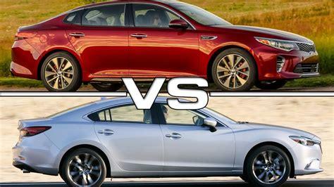 kia optima vs kia optima hybrid 2016 kia optima vs 2016 mazda6