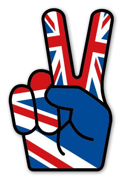 Union Jack Aufkleber by Stickerapp