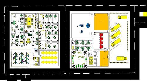 tipe layout pabrik contoh layout pabrik makanan perencanaan tata letak