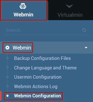 webmin port how to change the virtualmin listening port hostwinds