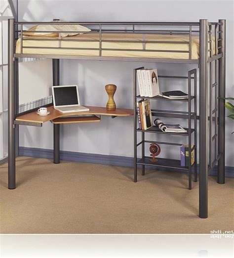 ikea size loft bed with desk