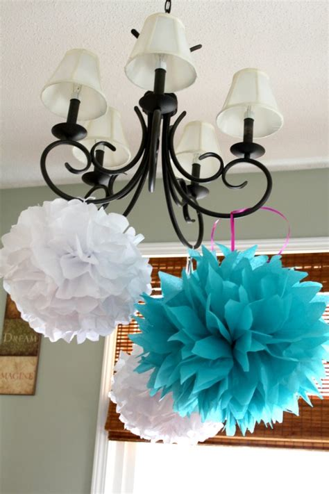 Make Your Own Tissue Paper Pom Poms - how to make tissue paper pom poms misanthropycreations