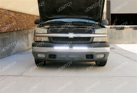 2004 chevy silverado lights 100w high power led light bar for chevrolet 1500 2500hd