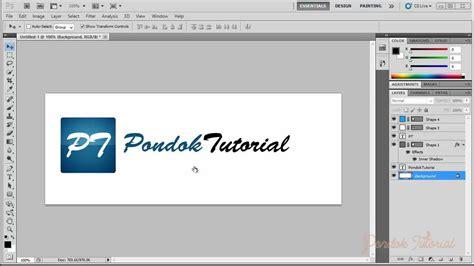 tutorial membuat logo youtube photoshop tutorial membuat logo elegan dengan photoshop