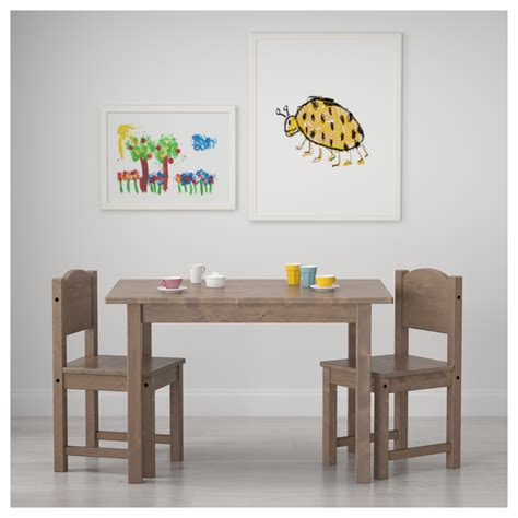 ikea childrens table sundvik children s table grey brown 76x50 cm ikea