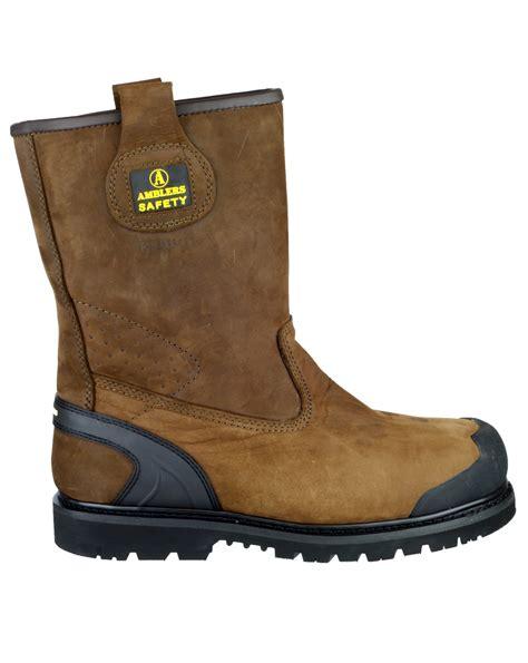 comfortable steel toe cap boots amblers safety fs223c rigger boot mens boots steel toe cap