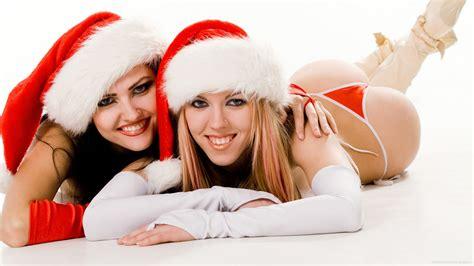 sexy hot models santa girls bikini lingerie underwears  tattooisme