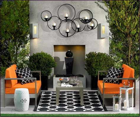 exterior house decorations wall art ideas design fascinating minimalist patio wall
