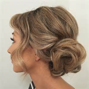 midway part hair updos 54 easy updo hairstyles for medium length hair in 2017