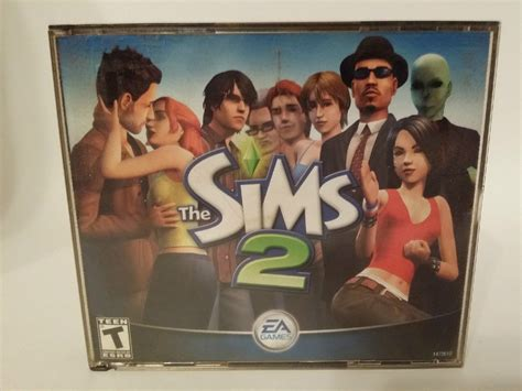 The Sims 2 Complete Pc the sims 2 pc cd complete with plastic manual
