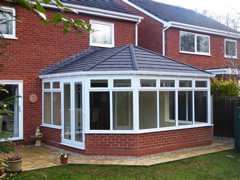 tiled shingle roof tiled conservatory roof conversion ensign roof