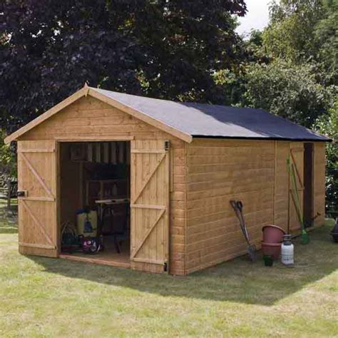 Large Garden Sheds Workshops by Large Wooden Sheds Scotland Nomis