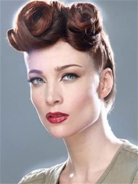 vintage hairstyles buns retro chic hairstyles for special occasions makeup tips