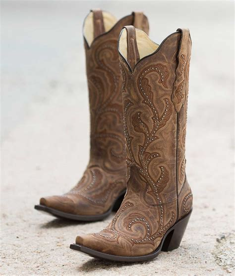 womans cowboy boots corral s studded cowboy boot g1240